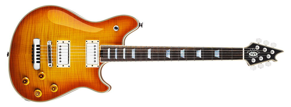 24 March 2011 Introducing the EVH Wolfgang Custom designed by Sir Edward Van Halen