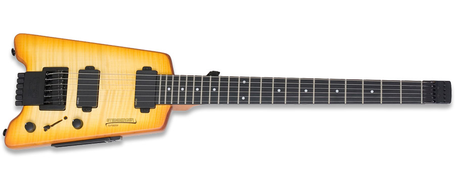 Steinberger Synapse SS-2FA Trans Amber