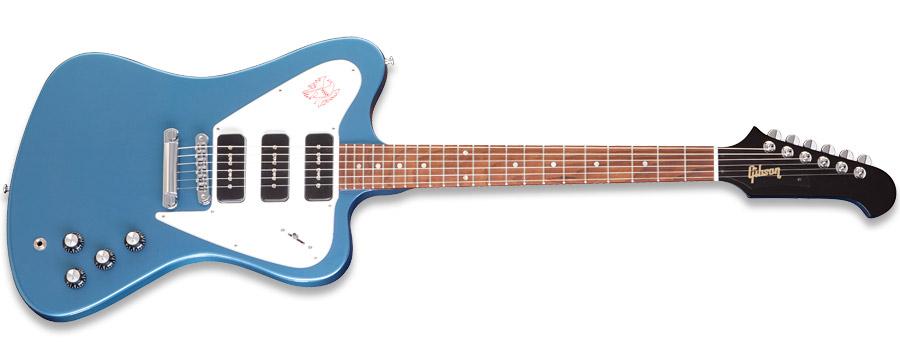 Gibson Firebird Studio Non-Reverse Pelham Blue