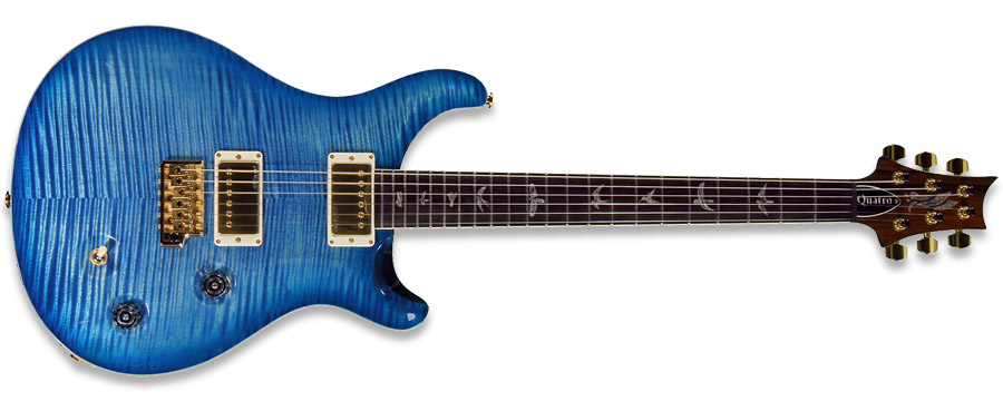 PRS Modern Eagle ME Quatro Faded Blue Burst