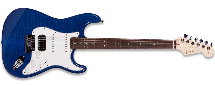 Fender 2011 Custom Deluxe Stratocaster Candy Blue