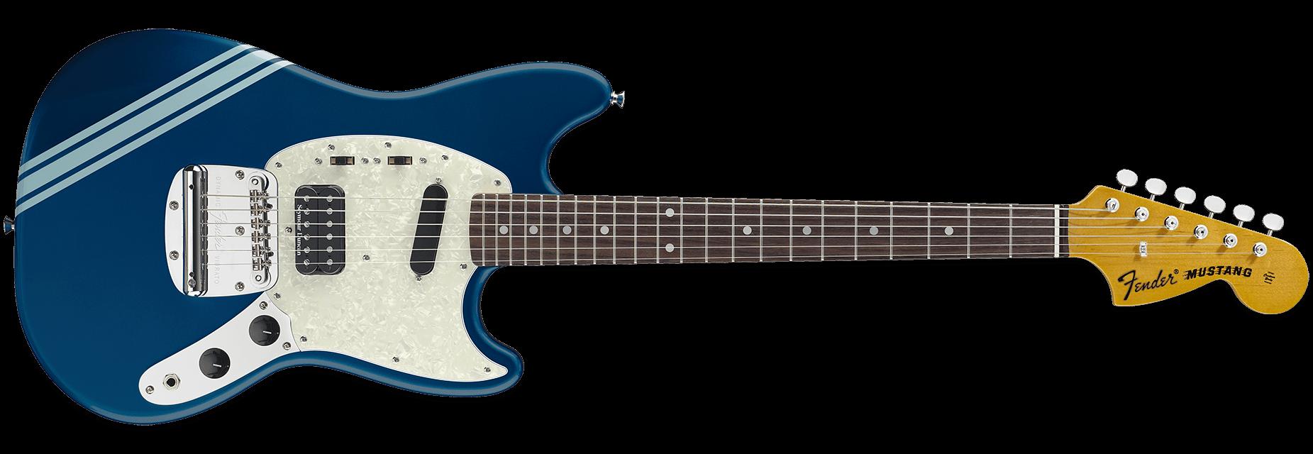 Fender Kurt Cobain Mustang Dark Lake Placid Blue