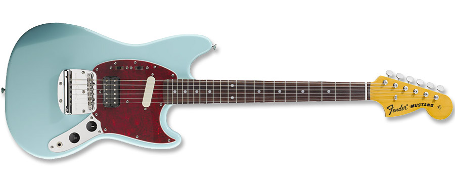 Fender Kurt Cobain Mustang Sonic Blue