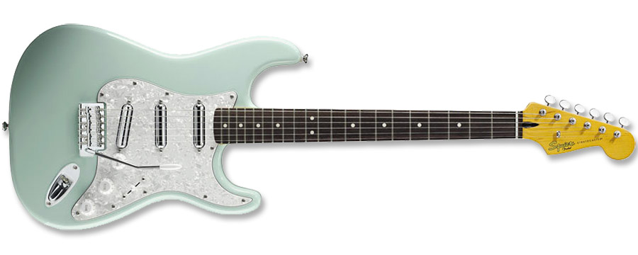 Squier Vintage Modified Surf Stratocaster Surf Green