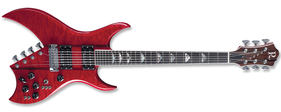 BC Rich Bich 10 Supreme Trans Red