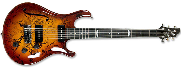 Flaxwood Liekki 290-H Orange Burst