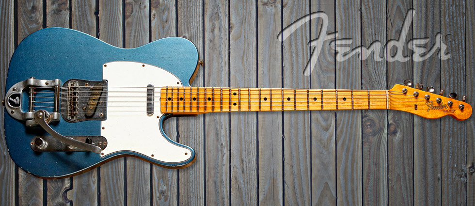accurate replica Telecaster from the Fender Custom Shop