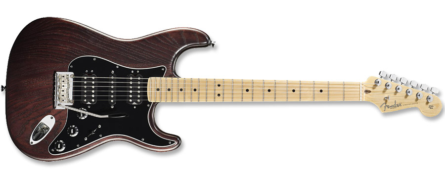 Fender American Standard Hand-Stained Ash Stratocaster HSH Mahogany