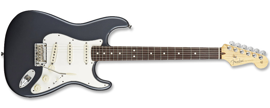 Fender American Standard Stratocaster 2012 Charcoal Frost Metallic