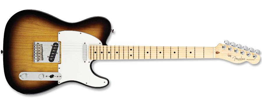 Fender American Standard Telecaster 2012 3 Color Sunburst