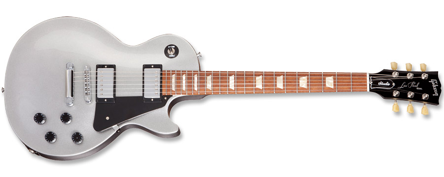 Gibson Les Paul Studio 2012 Silver Pearl