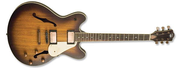 AXL Badwater Semi Hollowbody