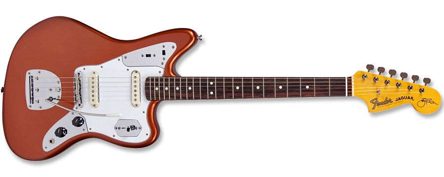 Fender Johnny Marr Jaguar Metallic KO