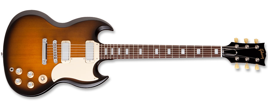 Gibson SG Special 70s Tribute Satin Vintage Burst