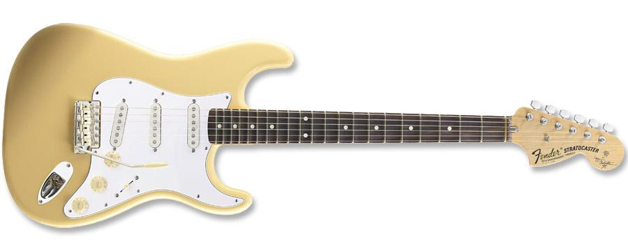 Fender Yngwie Malmsteen Stratocaster Vintage White