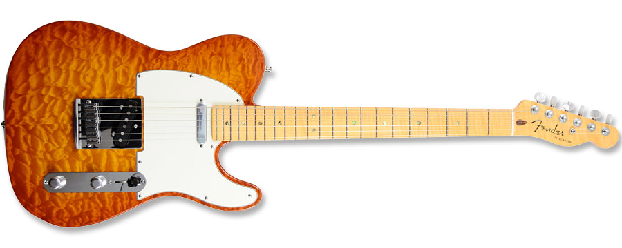 Fender Custom Deluxe Telecaster 2012 Faded Honey Burst