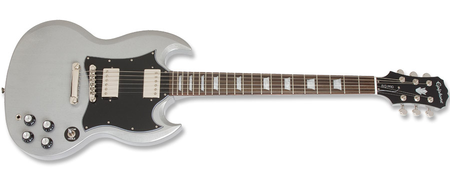 Epiphone G400 Pro TV Silver