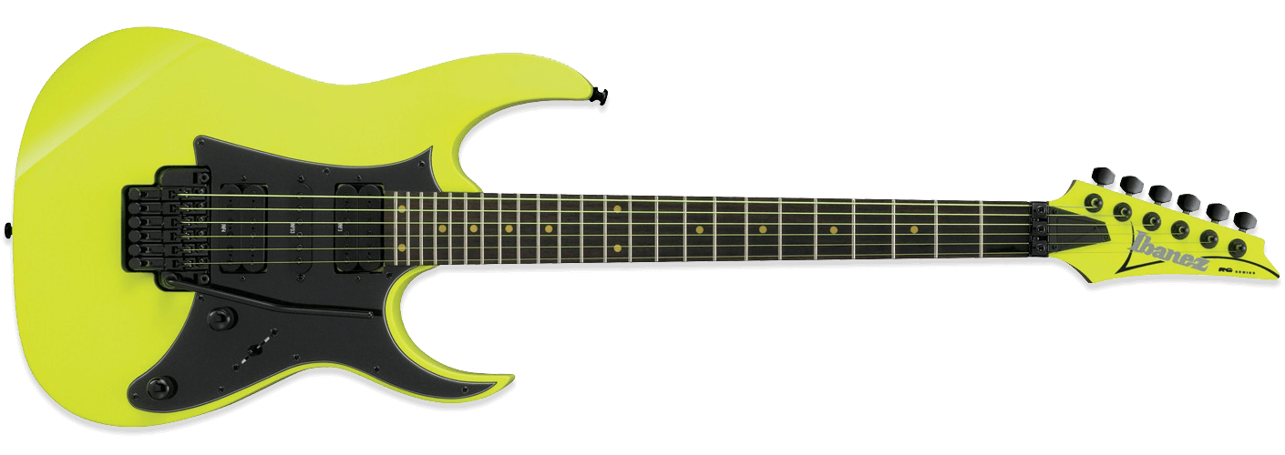 Ibanez RG RG2XXV 25th Anniversary Fluorescent Yellow