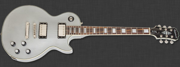 Epiphone Les Paul Custom Pro TV Silver