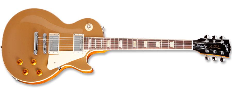 Gibson Les Paul Standard 2012 Goldtop