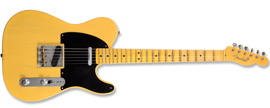 Fender 51 Custom Shop Nocaster Relic Butterscotch Blonde