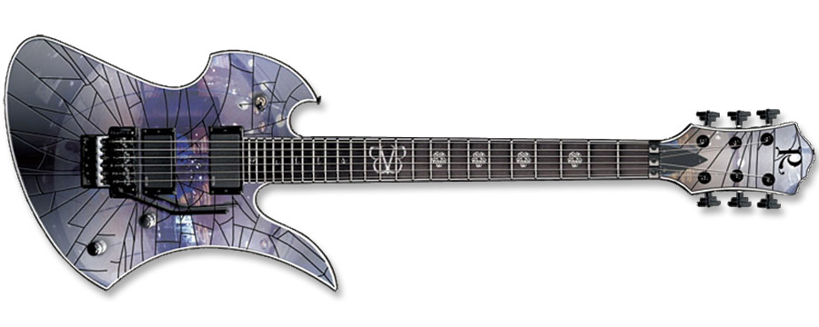 BC Rich Jake Pitts Pro X Mockingbird