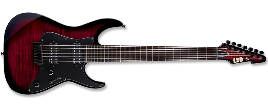 ESP LTD AW-7 Alex Wade Blood Red Sunburst