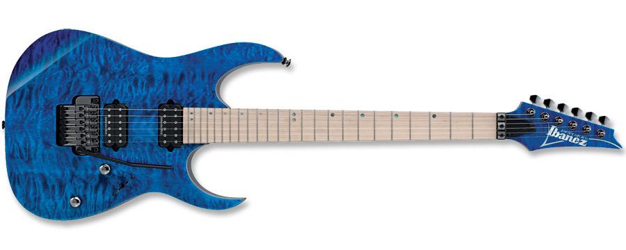 Ibanez RG Premium RG920MQM Cobalt Blue Surge