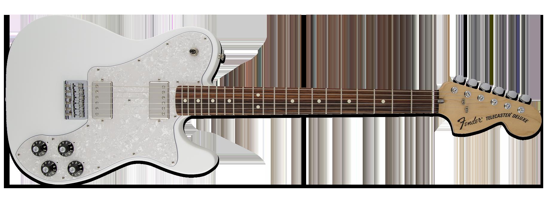 Fender Chris Shiflett Telecaster Deluxe Arctic White
