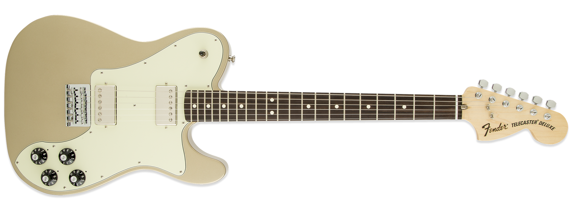 Fender Chris Shiflett Telecaster Deluxe Shoreline Gold