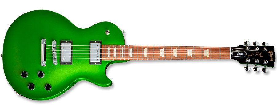 Gibson Nitrous Les Paul Studio Electric Lime