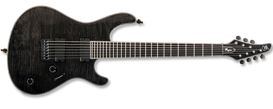 Mayones Regius 7 Transparent Black