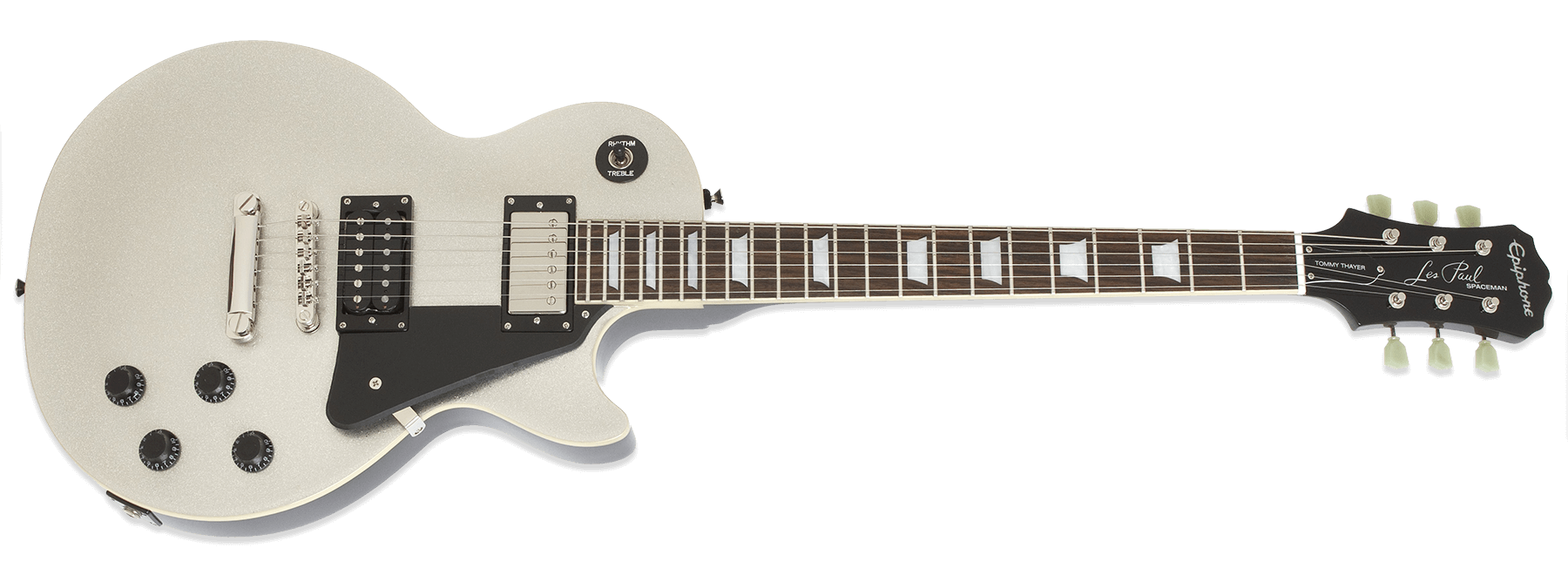 Epiphone Tommy Thayer Spaceman Les Paul Standard Silver Flake