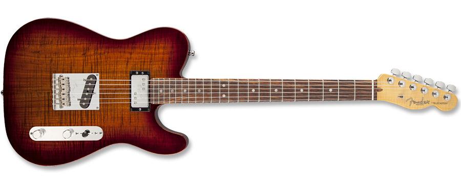 Fender Select Carved Blackwood Top Telecaster SH