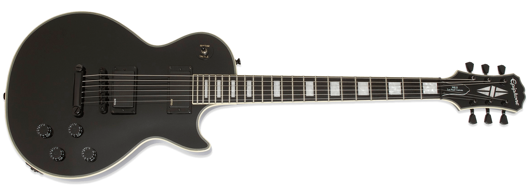Epiphone Matthew K Heafy Les Paul Custom 6-string Ebony
