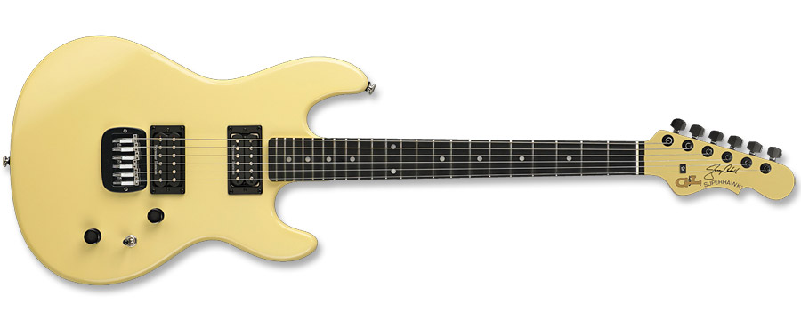 G&L Superhawk Jerry Cantrell Ivory