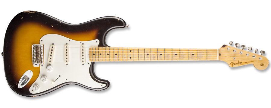 Fender Custom Shop Eric Clapton Brownie Stratocaster