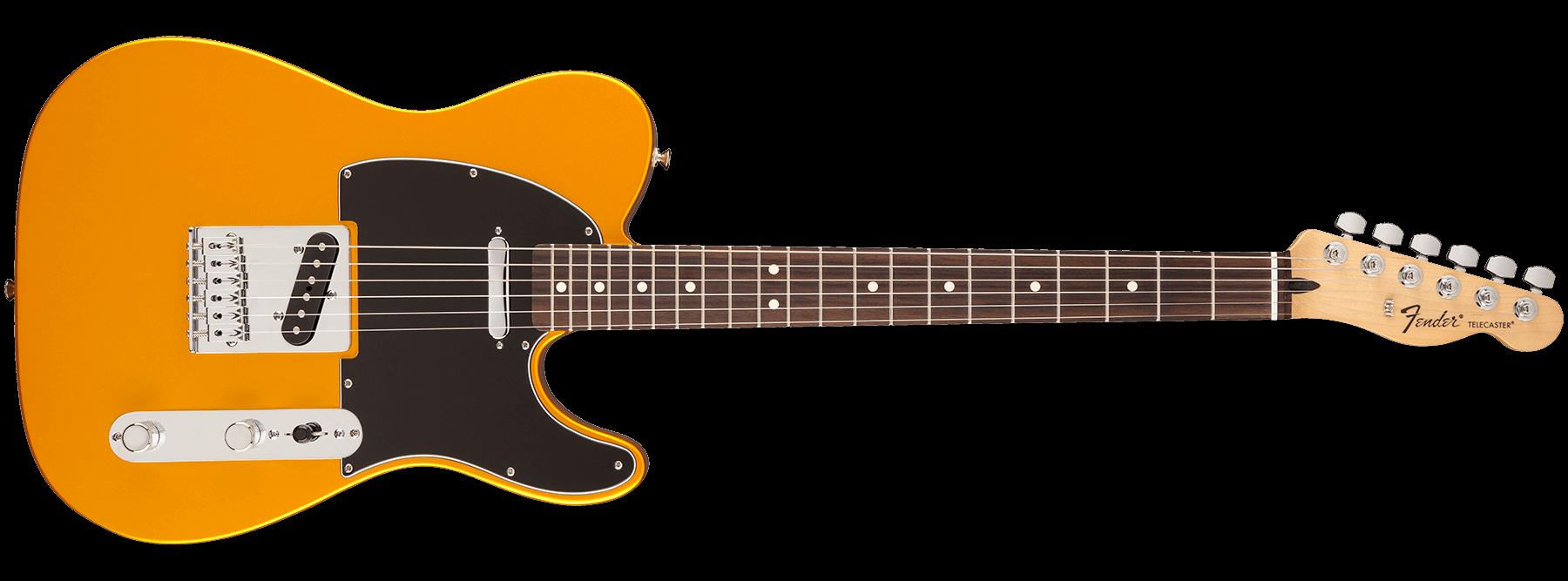 Fender Standard Telecaster Satin Blaze Gold