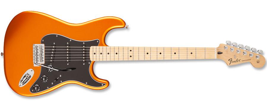 Fender Standard Stratocaster Satin Blaze Gold