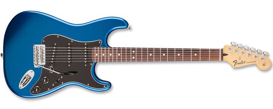 Fender Standard Stratocaster Satin Ocean Blue Candy