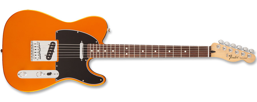 Fender Standard Telecaster Satin Flame Orange
