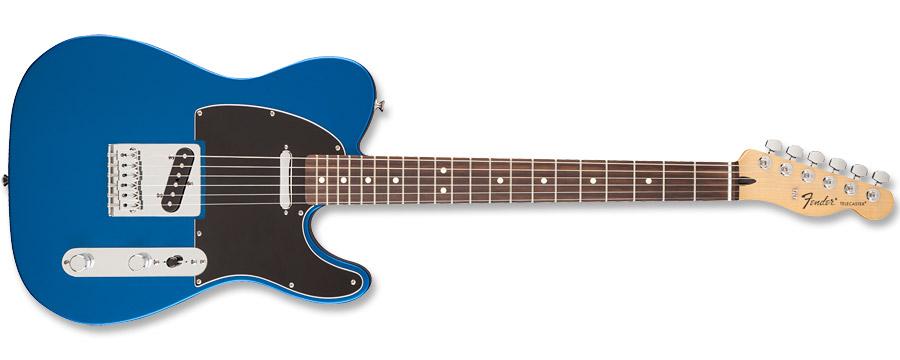 Fender Standard Telecaster Satin Ocean Blue Candy