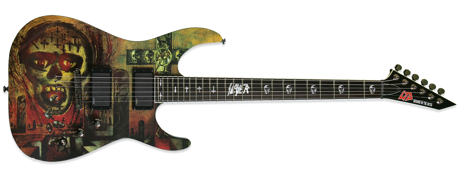 ESP LTD Slayer Seasons in the Abyss