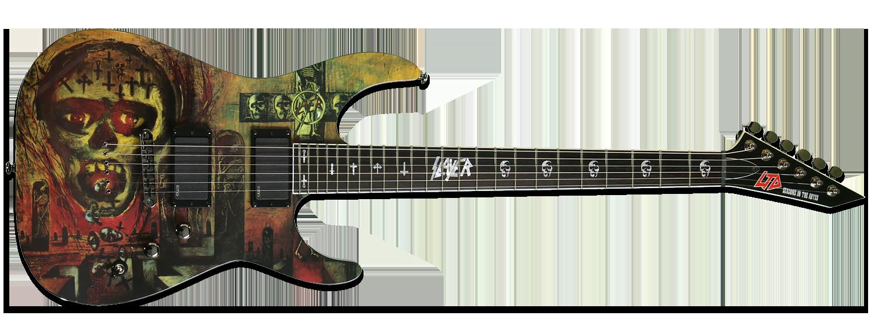 ESP LTD Slayer Seasons in the Abyss