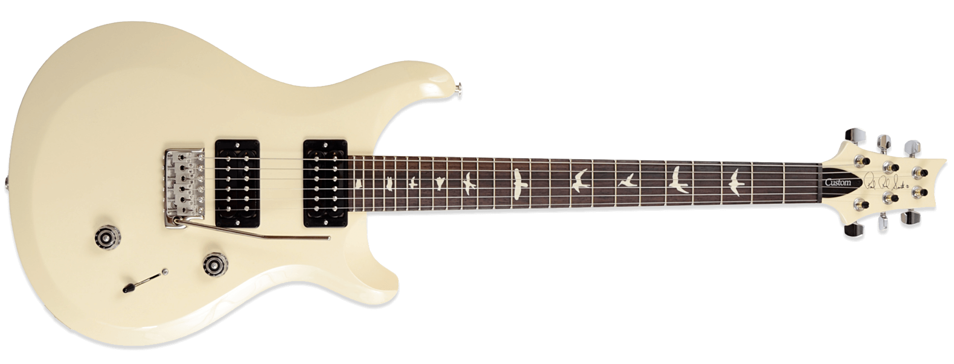 PRS S2 Custom 24 Antique White