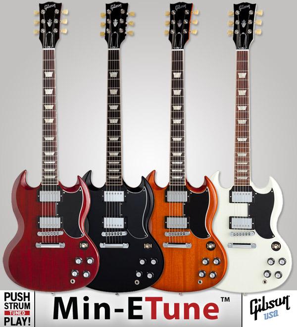 Gibson SG Standard Min-ETune