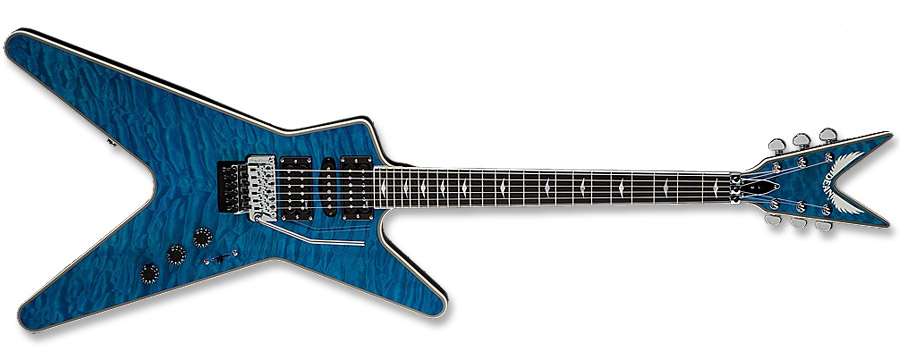Dean DCR 8 ML Switchblade Trans Blue