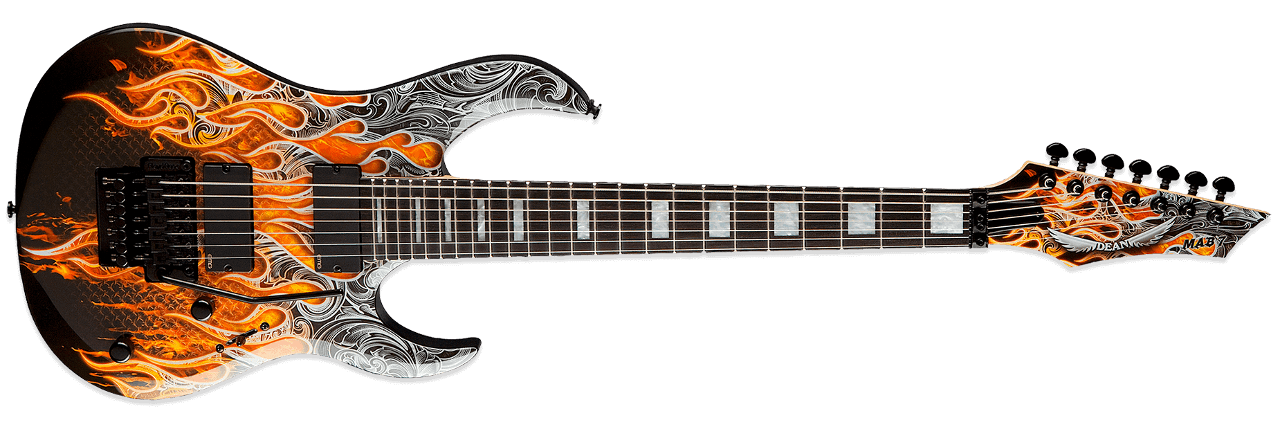 Dean Michael Angelo Batio MAB7 Warrior Armorflame
