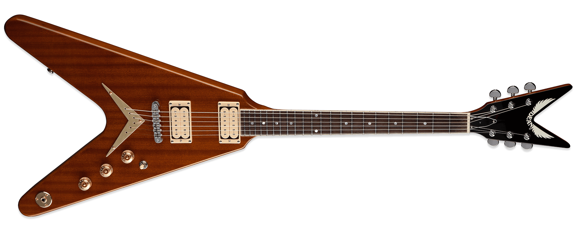 Dean V Chicago Standard Gloss Natural