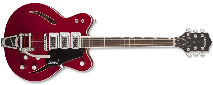 Gretsch G5622T-CB Electromatic Center-Block Rosa Red